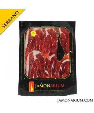 Serrano Gran Reserva shoulder ham sliced 100g
