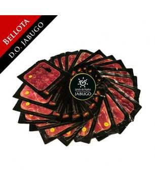"Pack 27AJ -Bellota 100% Pure Iberian Ham DO Jabugo (Huelva) ""Pata Negra"" Summum sliced"